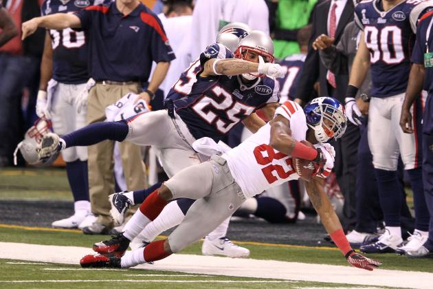 Giants vs. Patriots: G-Men Win Super Bowl as Mario Manningham Plays David Tyree