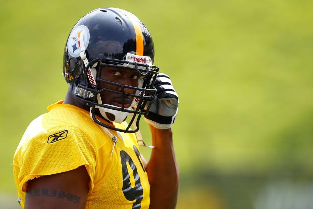 Super Bowl 2012: James Harrison Takes a Shot at Patriots and Shows No Class