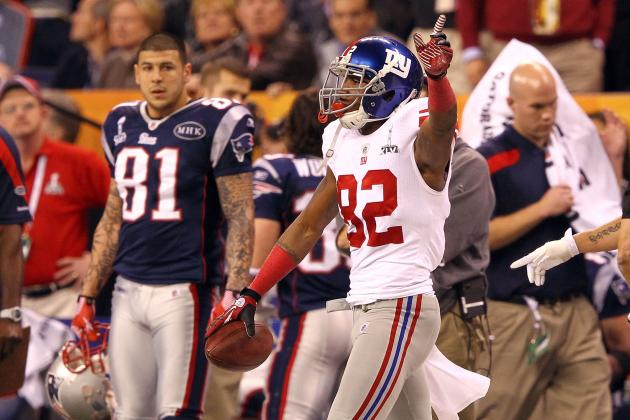 Giants vs. Patriots: Mario Manningham and Most Memorable Performances