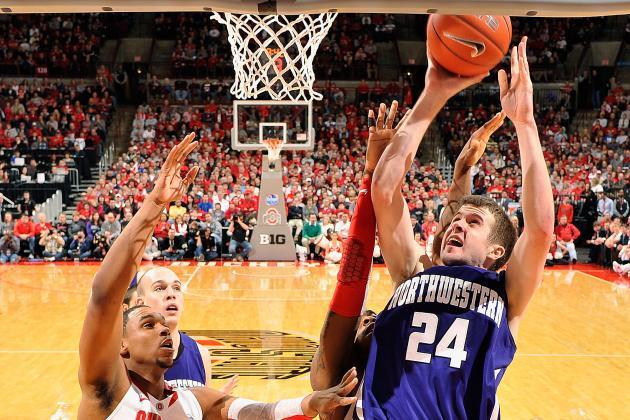 Northwestern Takes Down Illinois in Champaign, Waltzes Back into Tournament Talk