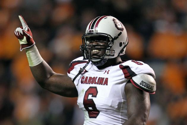 South Carolina Football: Melvin Ingram Should Be a Top 10 NFL Draft Pick