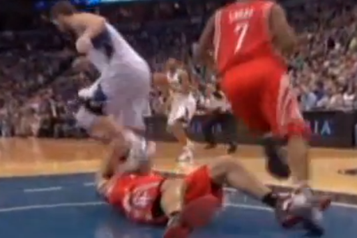 Kevin Love Suspended 2 Games by NBA for Stomping on Luis Scola