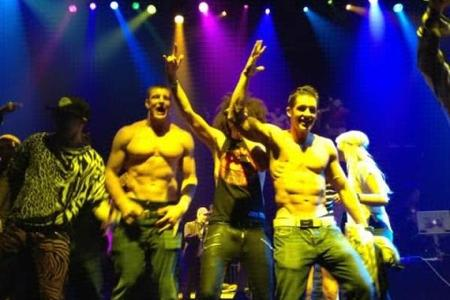 Rob Gronkowski Dances Shirtless at Party After Super Bowl Loss