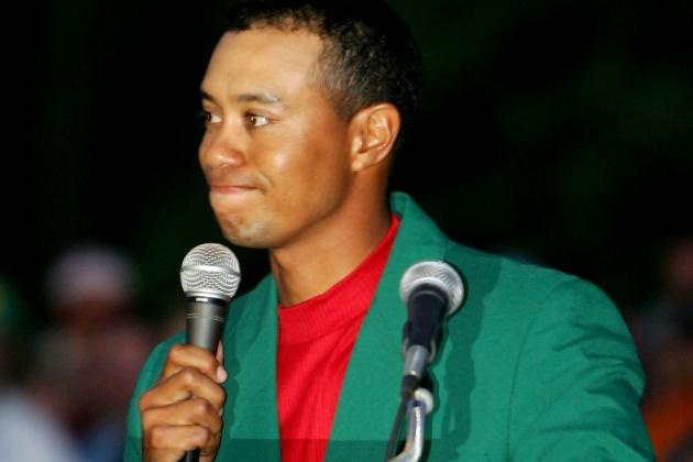 Masters Tournament 2012: Tiger's First Major Win in 4 Years