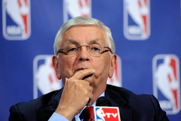 David Stern Urging Karl Malone and Utah Jazz to Be Chivalrous