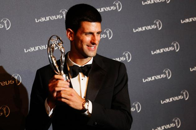 2012 Laureus Awards: Djokovic and Cheruiyot Among Those to Triumph in London