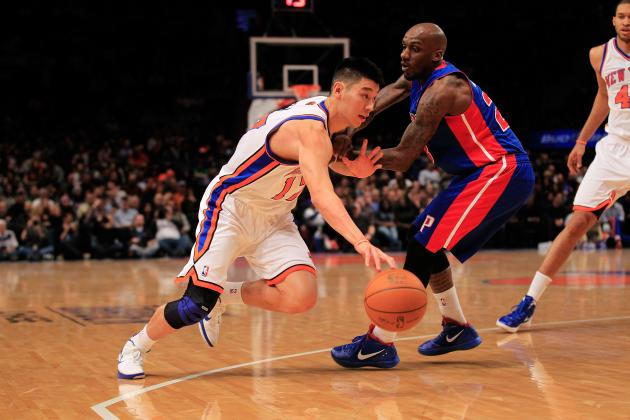 Jeremy Lin Electrifies Garden as the New York Knicks Win Despite Losing Carmelo