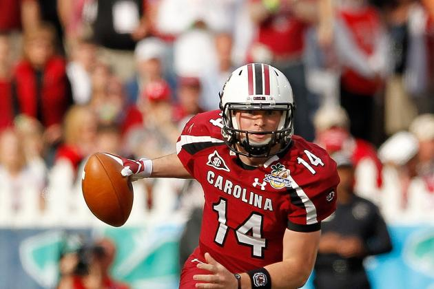 South Carolina Football:  Could Connor Shaw Be SEC's Best Quarterback in 2012?