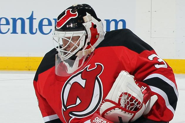 Martin Brodeur Ties Grant Fuhr for Points by Goalie with One Team