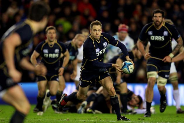 2012 Six Nations Rugby: Scotland's Parks Retires from International Competition