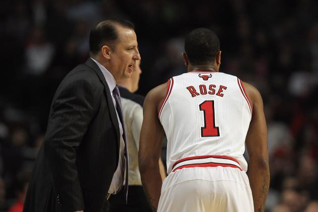 Derrick Rose Back Spasms Should Be a Concern for Tom Thibodeau and Chicago Bulls