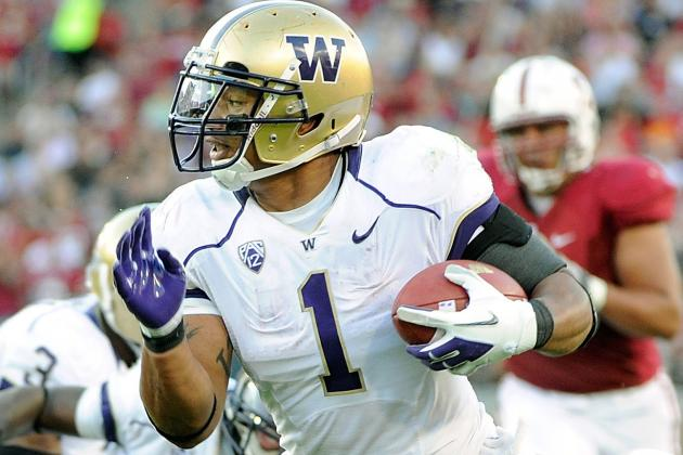 Washington RB Polk Expects to Run in the 4.4s