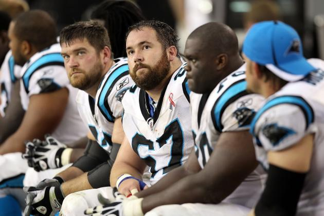 Carolina Panthers 2011 Season Review: The Offensive Line