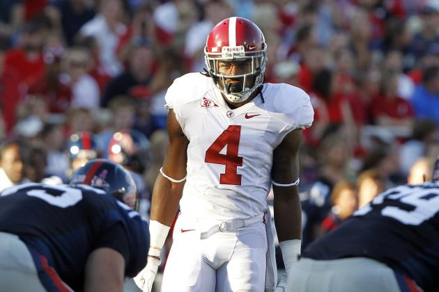 2012 NFL Mock Draft: Mark Barron and Best Value Picks Available
