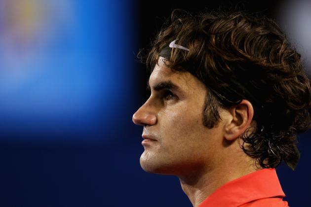 Roger Federer Existing Inside the