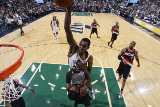 Jeremy Evans Must Rep Utah Jazz in Slam Dunk Contest