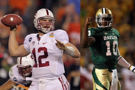 2012 NFL Draft: Comparing Andrew Luck and Robert Griffin III