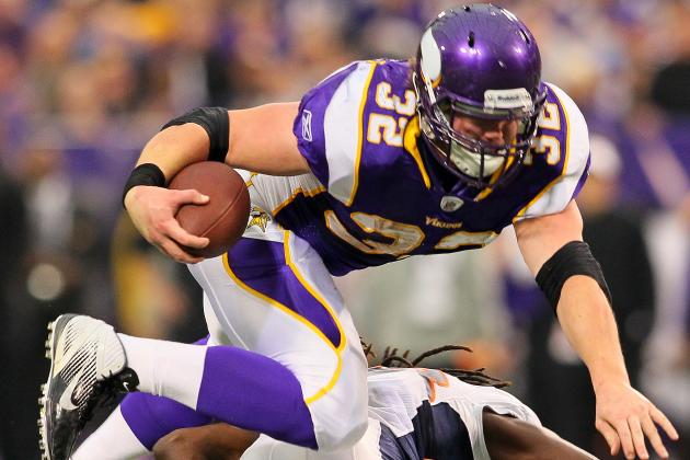 Minnesota Vikings: Why and How They Will Utilize Toby Gerhart Next Season