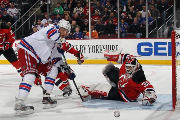 New York Rangers: Why Anisimov's Goal Didn't Count Against Devils' Brodeur