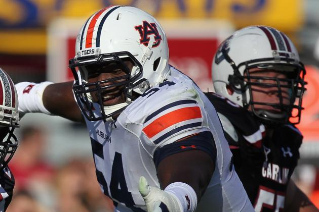 Auburn Football: Defensive Line Projected to Be Strong Point for Season