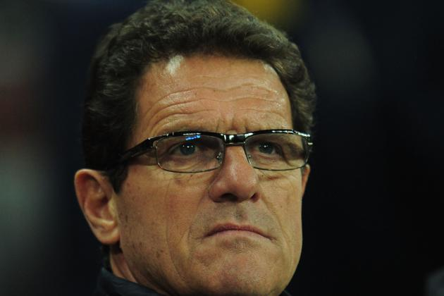 Fabio Capello Sticks with John Terry and Resigns as English Coach