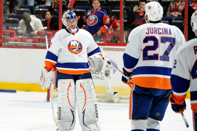 Evgeni Nabokov Running Away with New York Islanders Goaltending Job