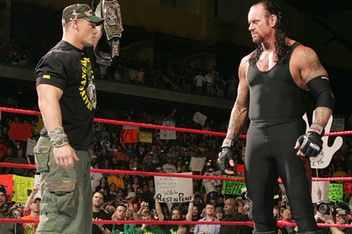 Why John Cena Should Retire Undertaker at WrestleMania