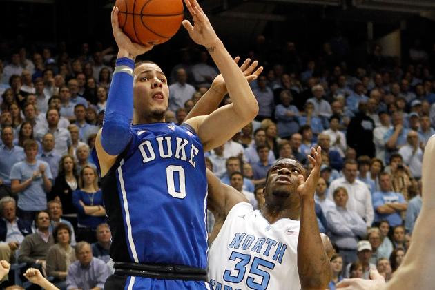 Duke's Austin Rivers Rips North Carolina's Defense; Lifts Duke to Win