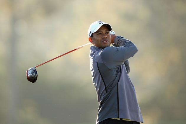 Pebble Beach National Pro-Am Golf 2012: Tracking Tiger Woods