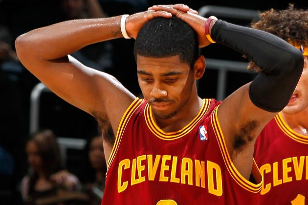 Kyrie Irving Suffering from a Concussion