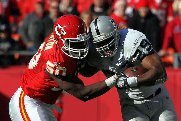Oakland Raiders: Would Bush Getting Tagged Be the End of McFadden in Oakland?