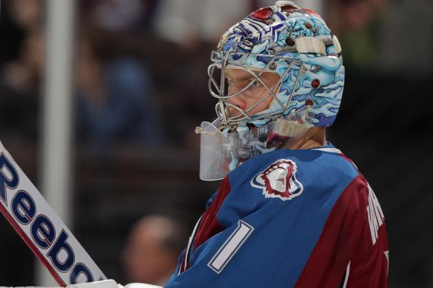 So Far, Varlamov Far from the No. 1 Goalie the Colorado Avalanche Expected