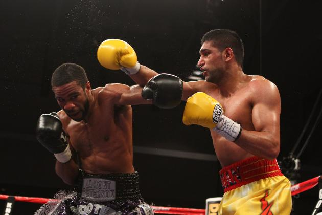 Boxing: Amir Khan vs. Lamont Peterson Set for May 19th in Las Vegas