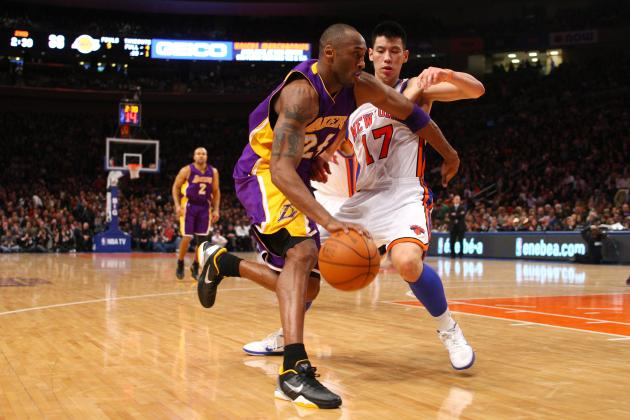 Jeremy Lin: Kobe Bryant Takes Notice of Linsanity After Knicks Star's Dominance