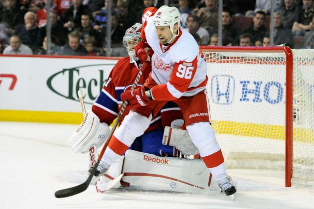 Detroit Red Wings Tomas Holmstrom: Just Another Crazy Hockey Player!