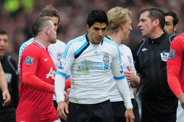 Luis Suarez: Uruguayan Striker's Actions Disgraceful in Loss at Manchester Unite