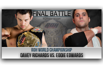 Ring of Honor: Davey Richards and Eddie Edwards Destroy Pro Wrestling
