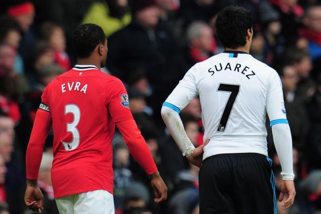 Luis Suarez vs. Patrice Evra 2: The Handshake