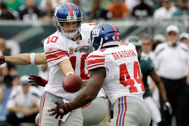 Stay with Bradshaw: Why an Elite RB on the Giants Would Hurt Eli Manning