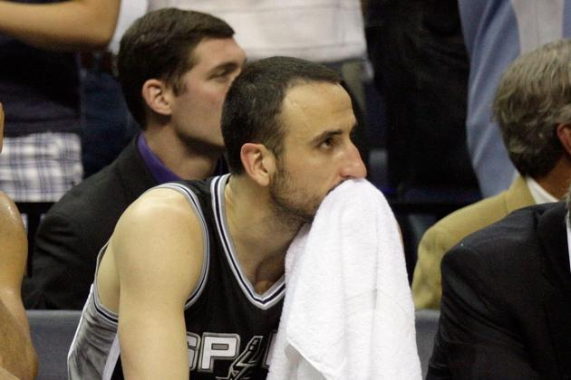 San Antonio Spurs:  How Manu Ginobili Should Be Worked Back into the Lineup