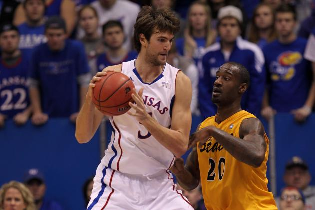 Kansas Jayhawks Center Jeff Withey Is College Basketball's Rising Star