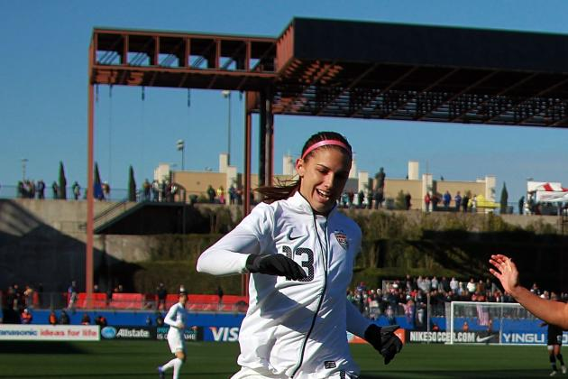Alex Morgan to Pose in Body Paint for the 2012 SI Swimsuit Issue