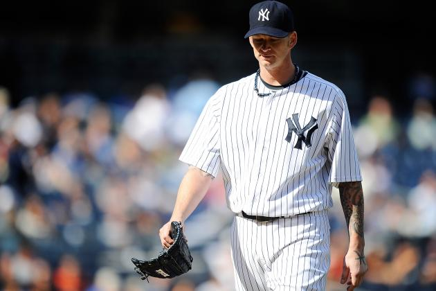 MLB Trade Rumors: Good Chance NY Yankees Trade AJ Burnett to Pittsburgh Pirates