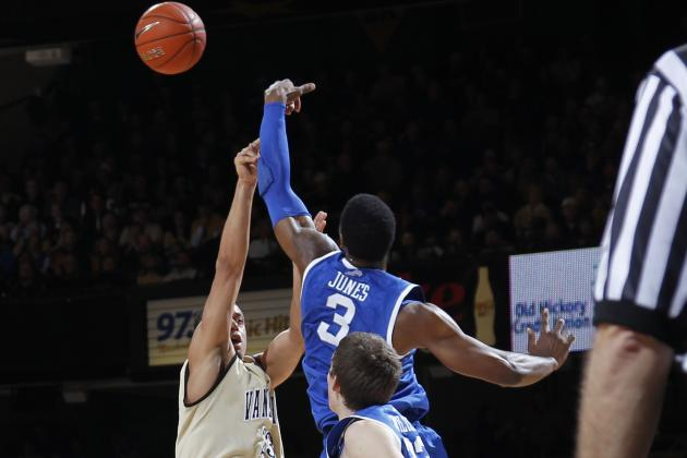 Vanderbilt vs. Kentucky: No. 1 Wildcats Survive Road Test Against Commodores