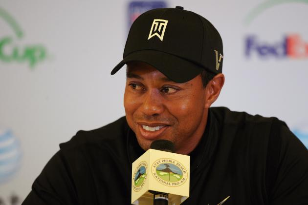 Tiger's Blood: Woods 4 Strokes Back of Leader Wi, Final Day at Pebble Beach