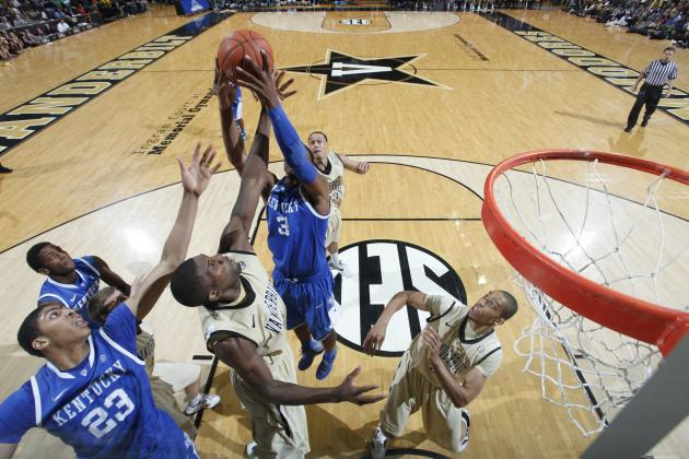 SEC Basketball: Crazy Saturday Means Kentucky, Then Everyone Else in SEC