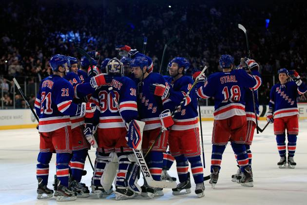 Rangers Defeat Capitals 3-2, Turn to Unsung Heroes for the Win