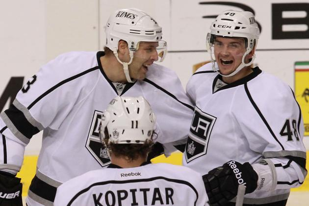 Trio of Young Forwards Shine for the Los Angeles Kings