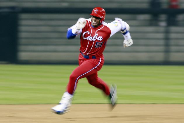Report: Chicago Cubs Likely Out on Yoenis Cespedes, in Hard on Jorge Soler