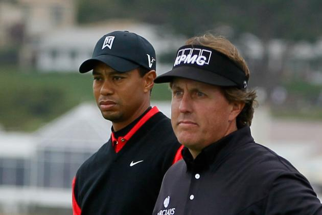 Phil Mickelson and the Fading Red Shirt of Tiger Woods